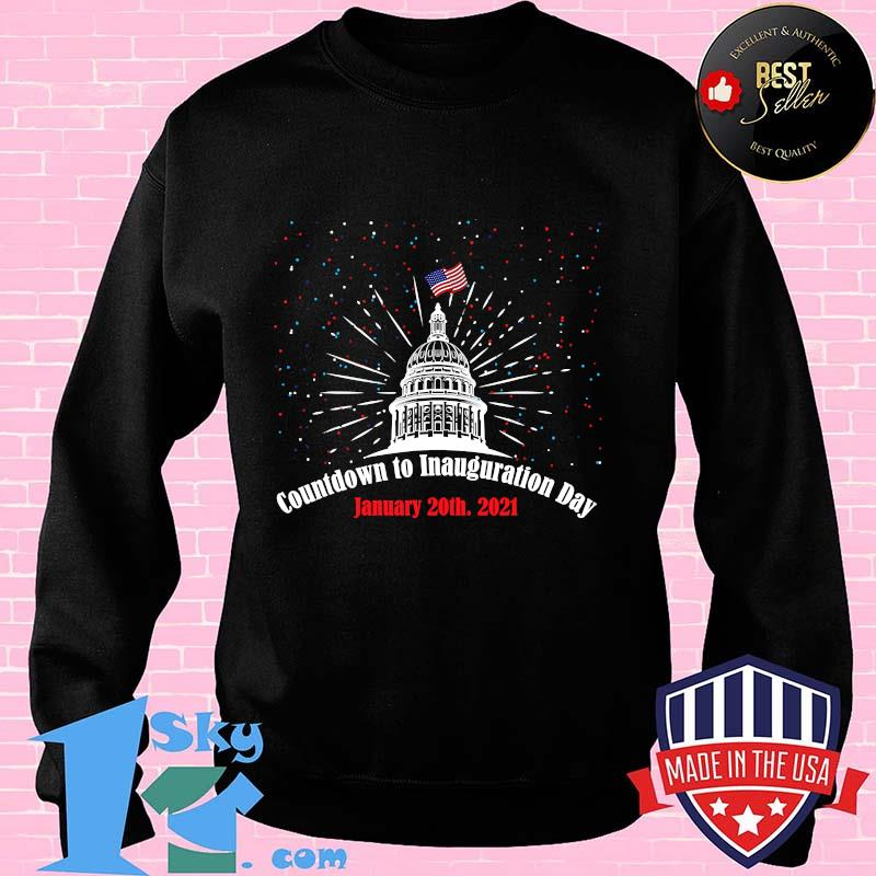 Countdown To Inauguration Day January 20th 2021 American Flag White House Shirt