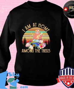 I Am At Home Among the Trees Sloth Vintage Shirt Sweater