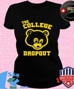 Bear the college dropout V-neck