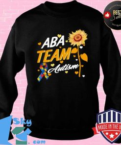 Behavior Analyst ABA Team Autism RBT Therapist Technician Shirt Sweater