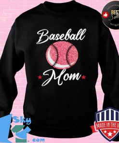 Baseball Mom Cool Sport Mommy Mama Momma Wife Mother Shirt Sweater