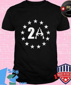 Betsy Ross 13 Stars Flag 2A AR15 1776 I Will Not Comply Shirt Unisex