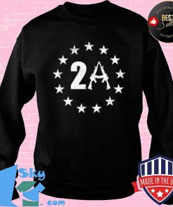 Betsy Ross 13 Stars Flag 2A AR15 1776 I Will Not Comply Shirt Sweater