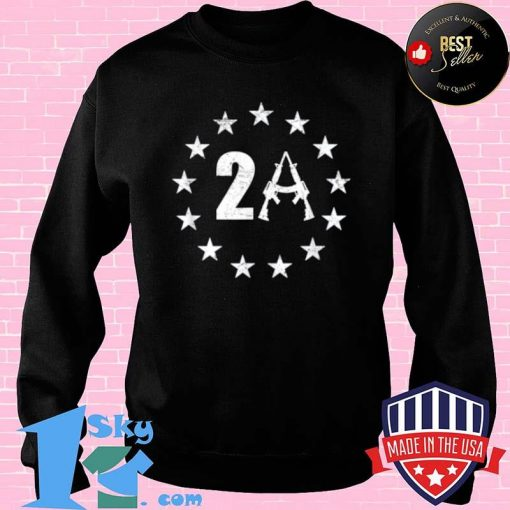 Betsy Ross 13 Stars Flag 2A AR15 1776 I Will Not Comply Shirt