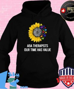 Behavior Analyst ABA Team Autism RBT Therapist Technician Shirt