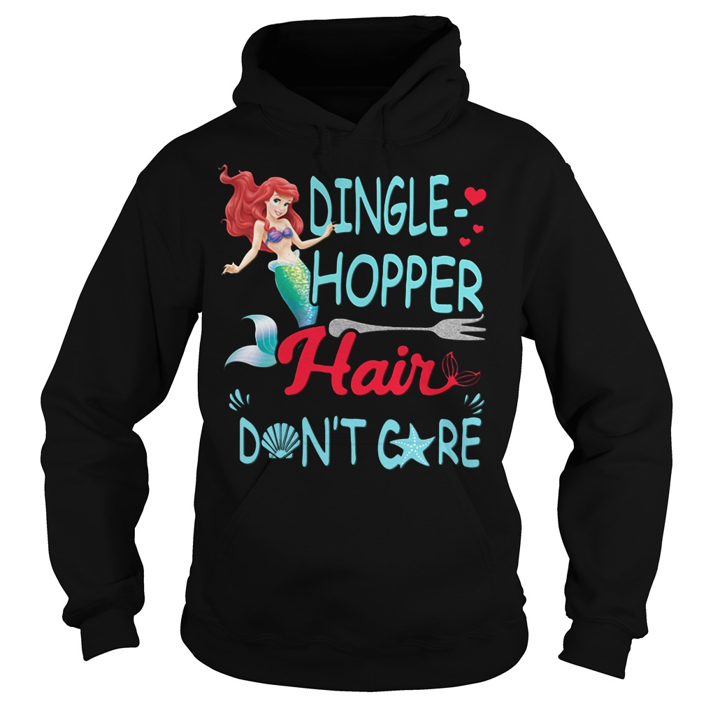 Official Dingle Hopper Hair Don't Care Hoodie