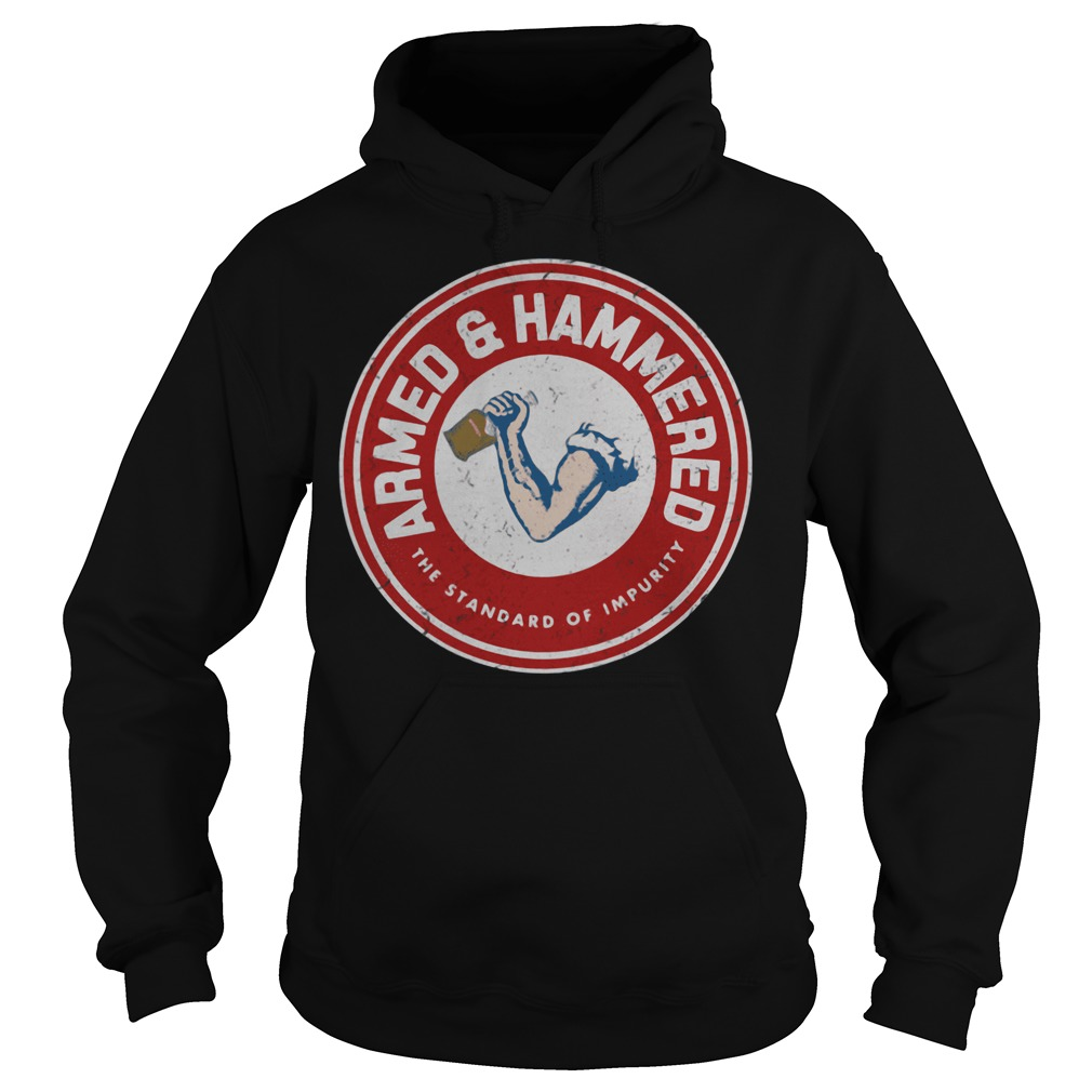 Armed And Hammered Hoodie