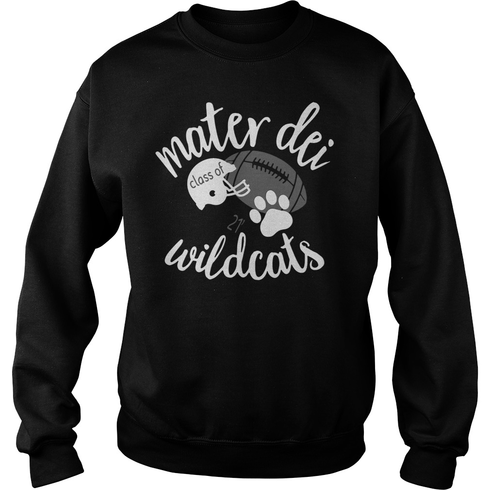 Baseball Mater Dei High School Wildcats SweatShirt