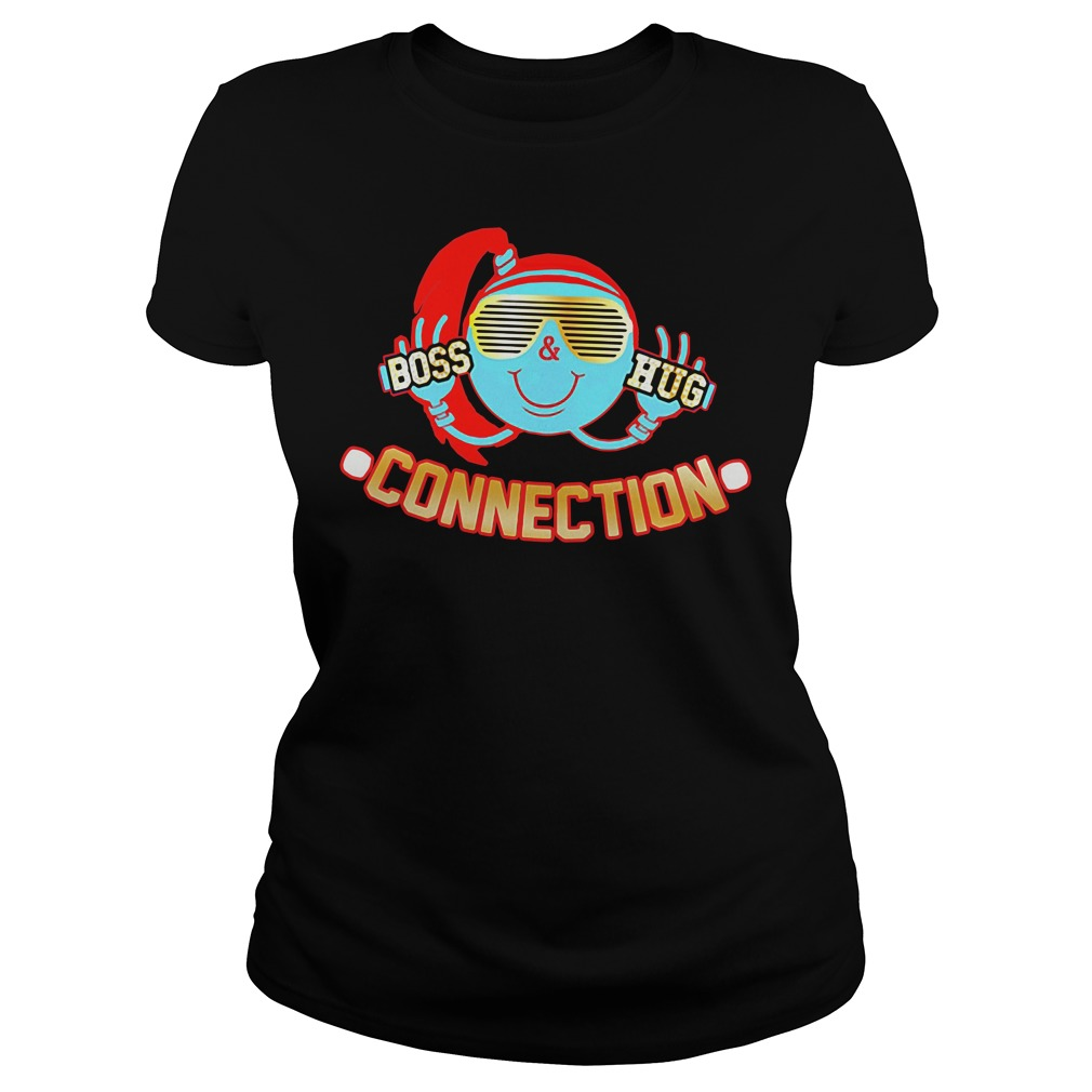 Boss Hug Connection Friends Forever Ladies tee