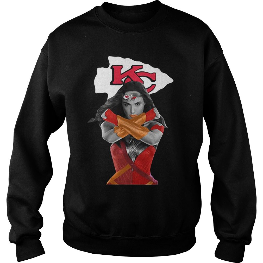Kc Kansas City Chief Wallpaper Female Superhero SweatShirt