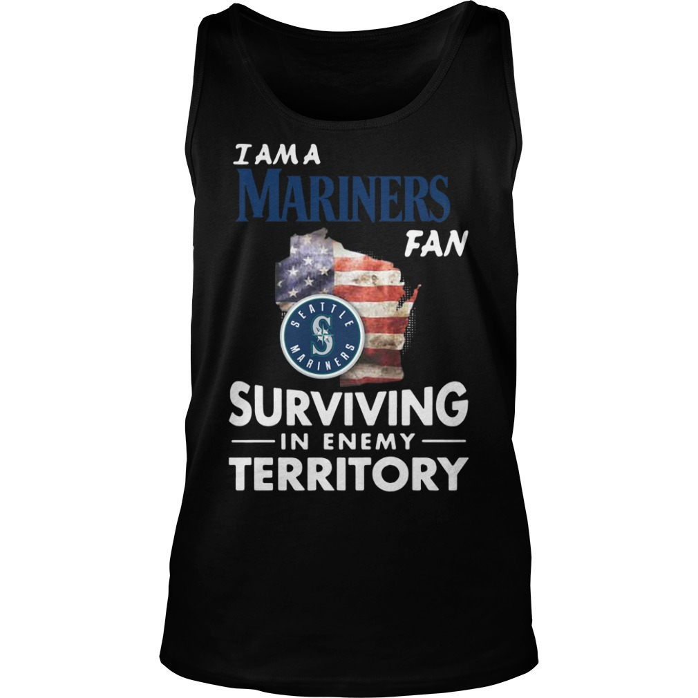 I Am A Mariners Surviving In The Enemy Territory tank top