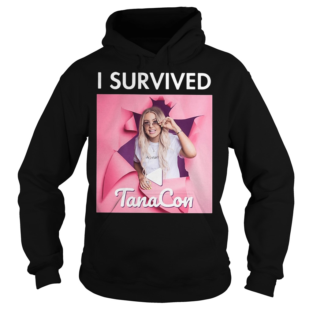 Ricky Dillons I Survived Tanacon Hoodie