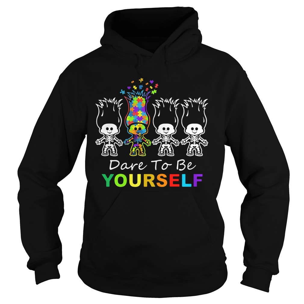 Official Dabbing Skeleton Dare To Yourself hoodie