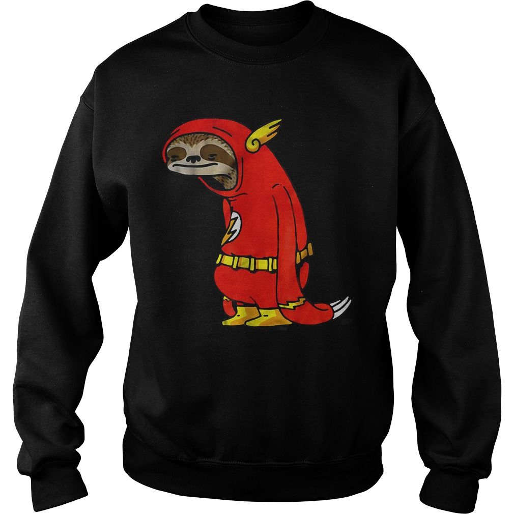 Official Funny Sloth Shirt The Flash The Neutral Sweatshirt