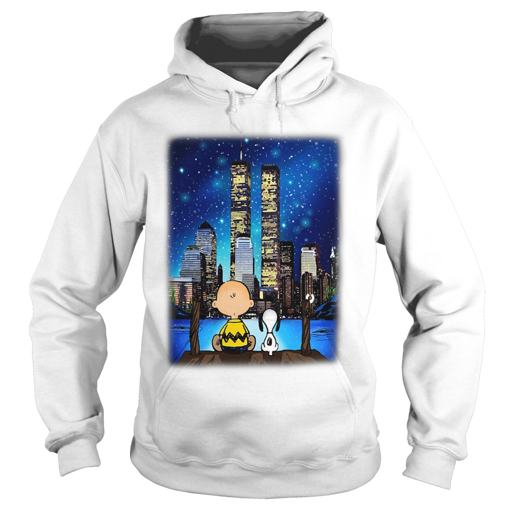 Peanuts Snoopy Charlie Brown New York hoodie