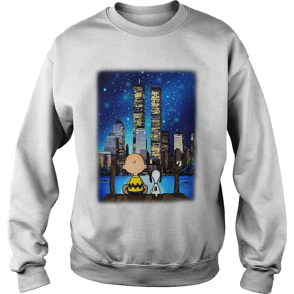 Peanuts Snoopy Charlie Brown New York sweatShirt