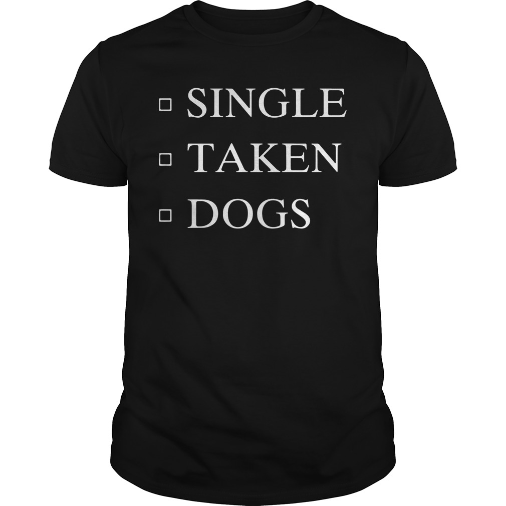 Official Single Taken Dogs Classic Guys