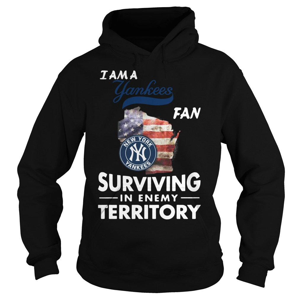 I Am A Yankees Fan Surviving In The Enemy Territory hoodie