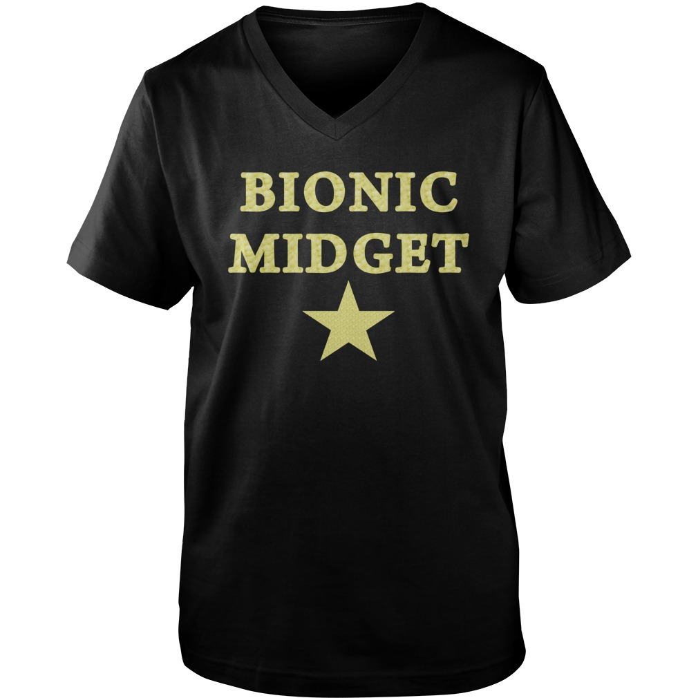 Bionic Midget Star guys v-neck
