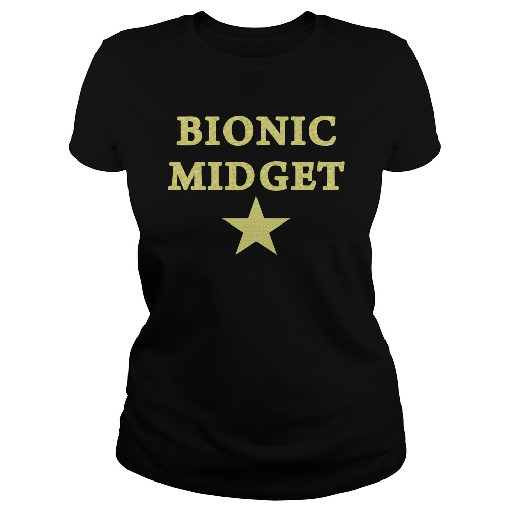 Bionic Midget Star ladies tee