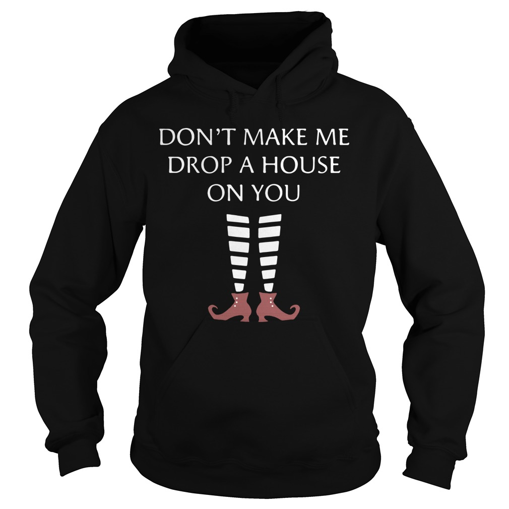 Don't Make Me Drop A House On You hoodie