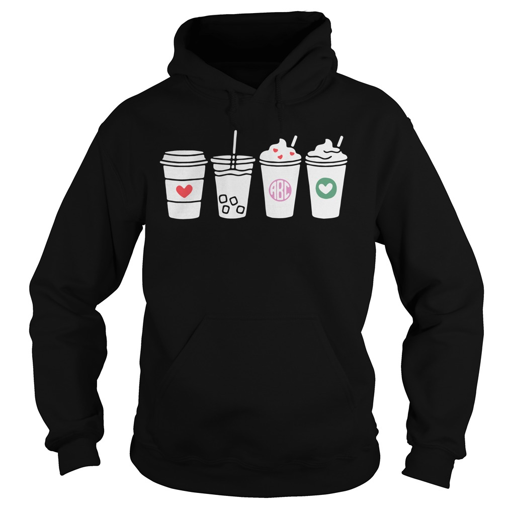 Four Cups Abc Love hoodie