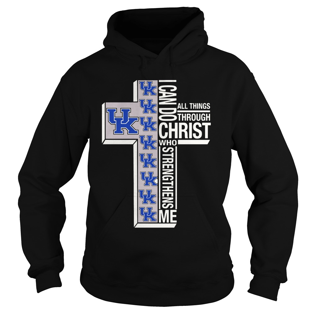 Holy Price Uk I Can Do Christ Who Strengthens Me All Things Through hoodie