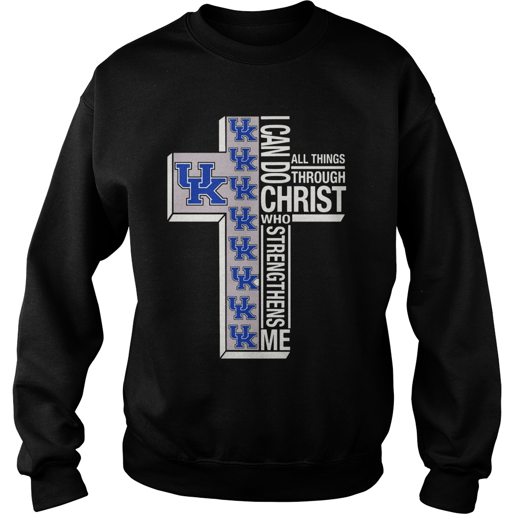 Holy Price Uk I Can Do Christ Who Strengthens Me All Things Through Sweatshirt