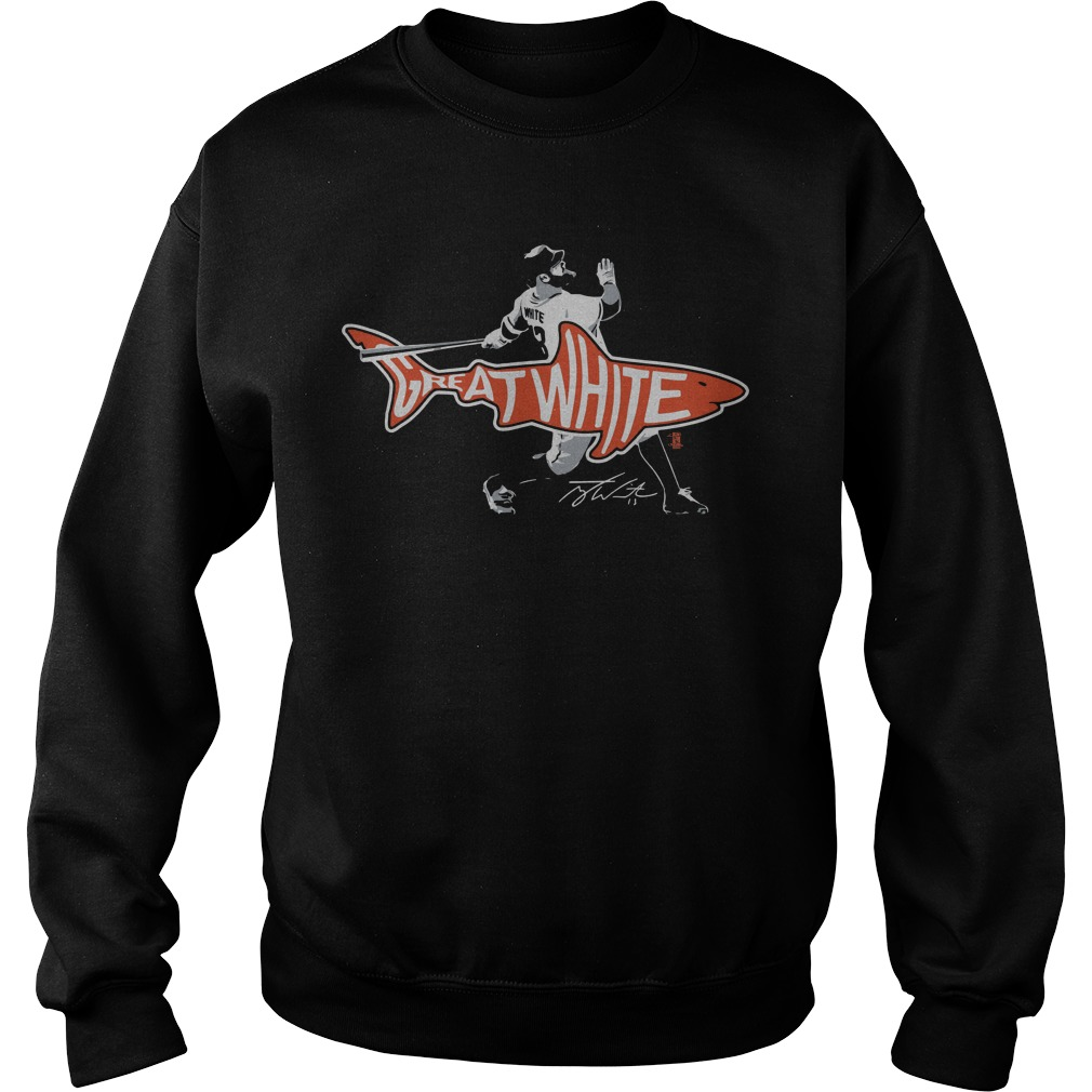 Tyler White Houston Great White Shark sweatShirt