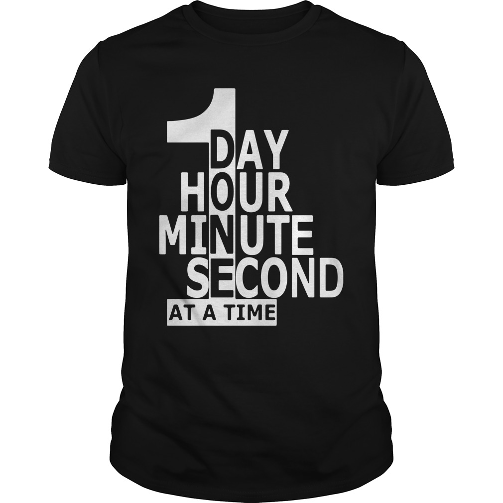 1 Day Hour Minute Second At A Time classic guys