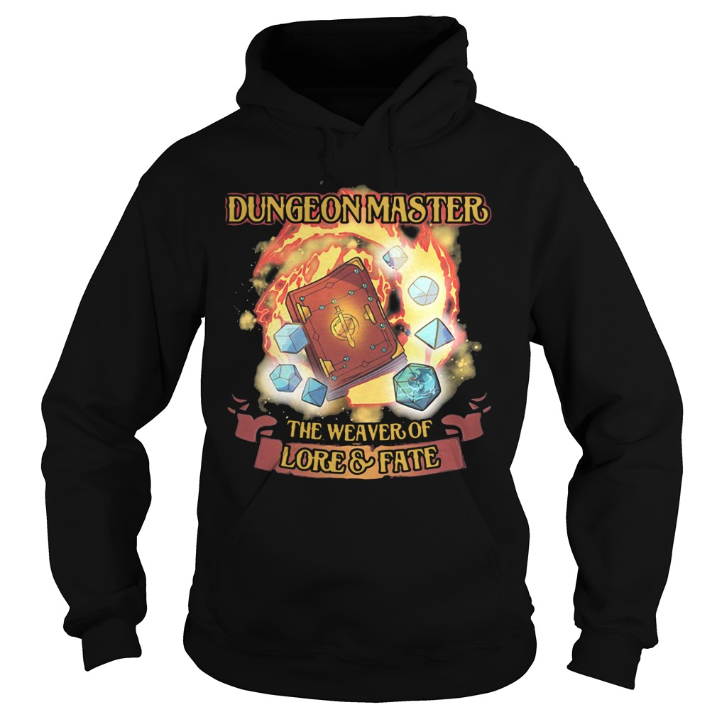 Dungeon Master The Weaver Of Lore & Fate hoodie