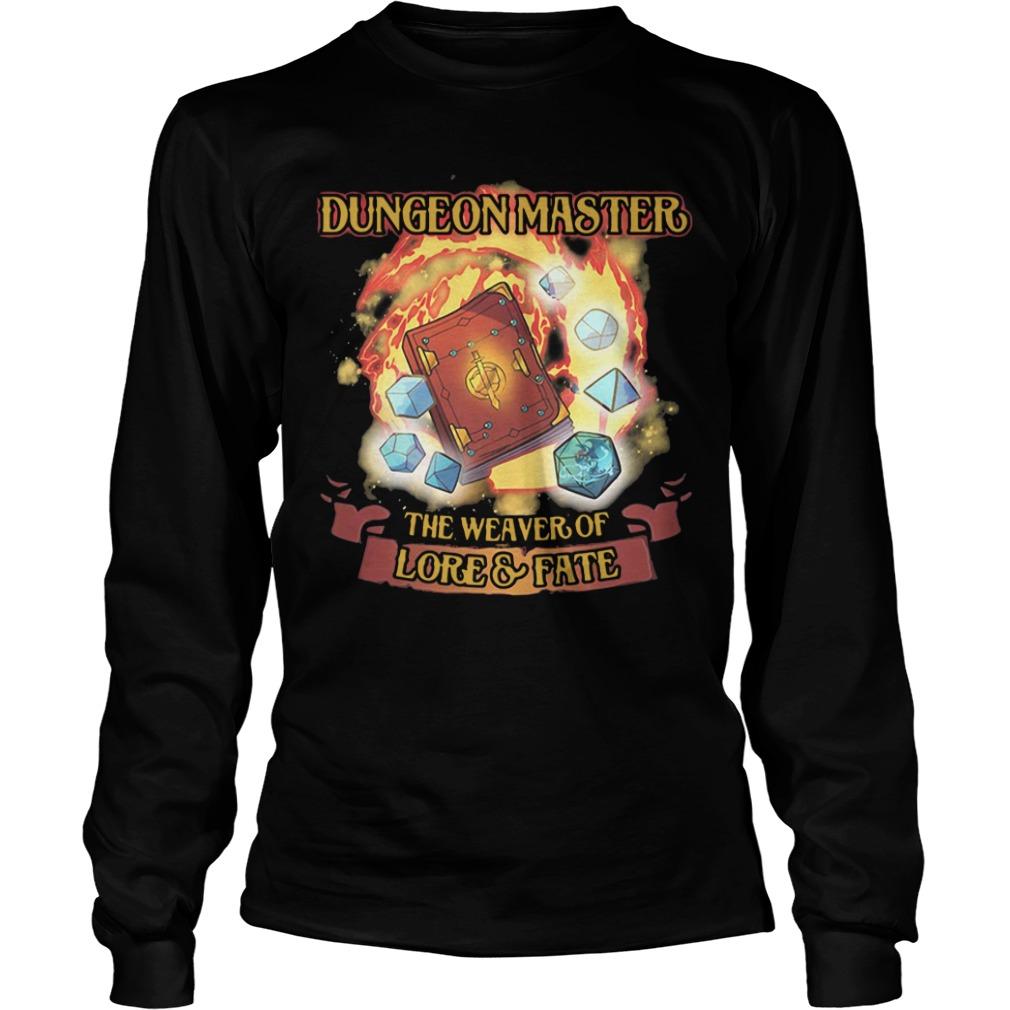 Dungeon Master The Weaver Of Lore & Fate long sleeve