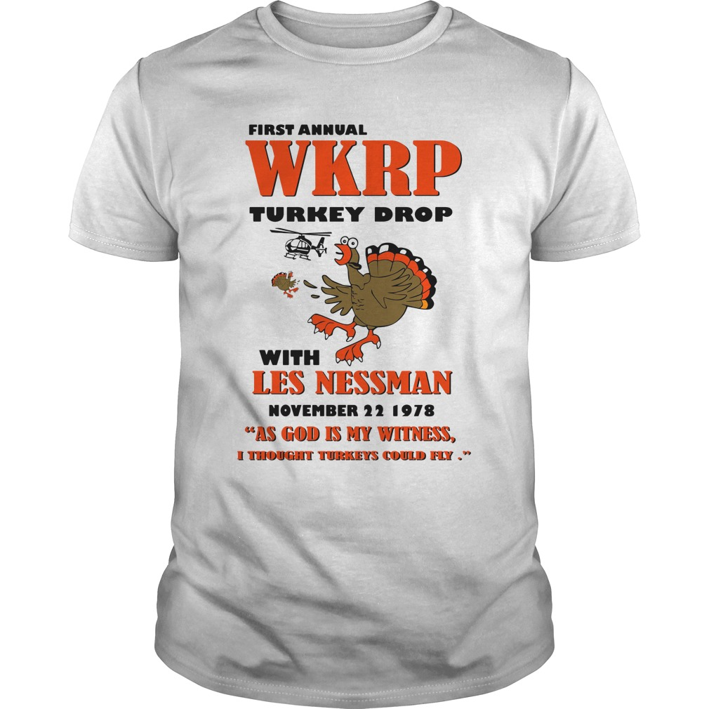 First Annual Wkrp Turkey Drop With Les Nessman November 22 1978 classis guys