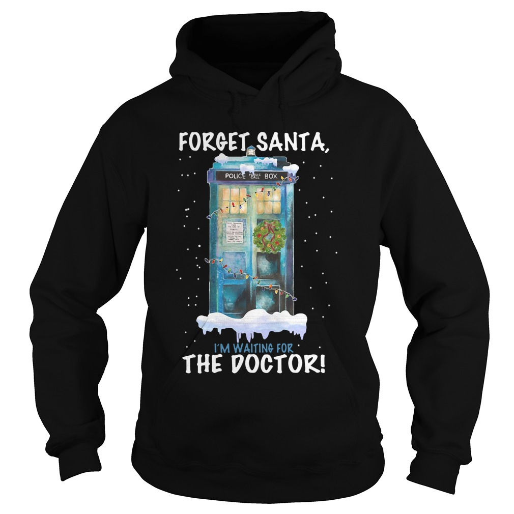 Forget Santa, I'm Waiting For The Doctor Hoodie