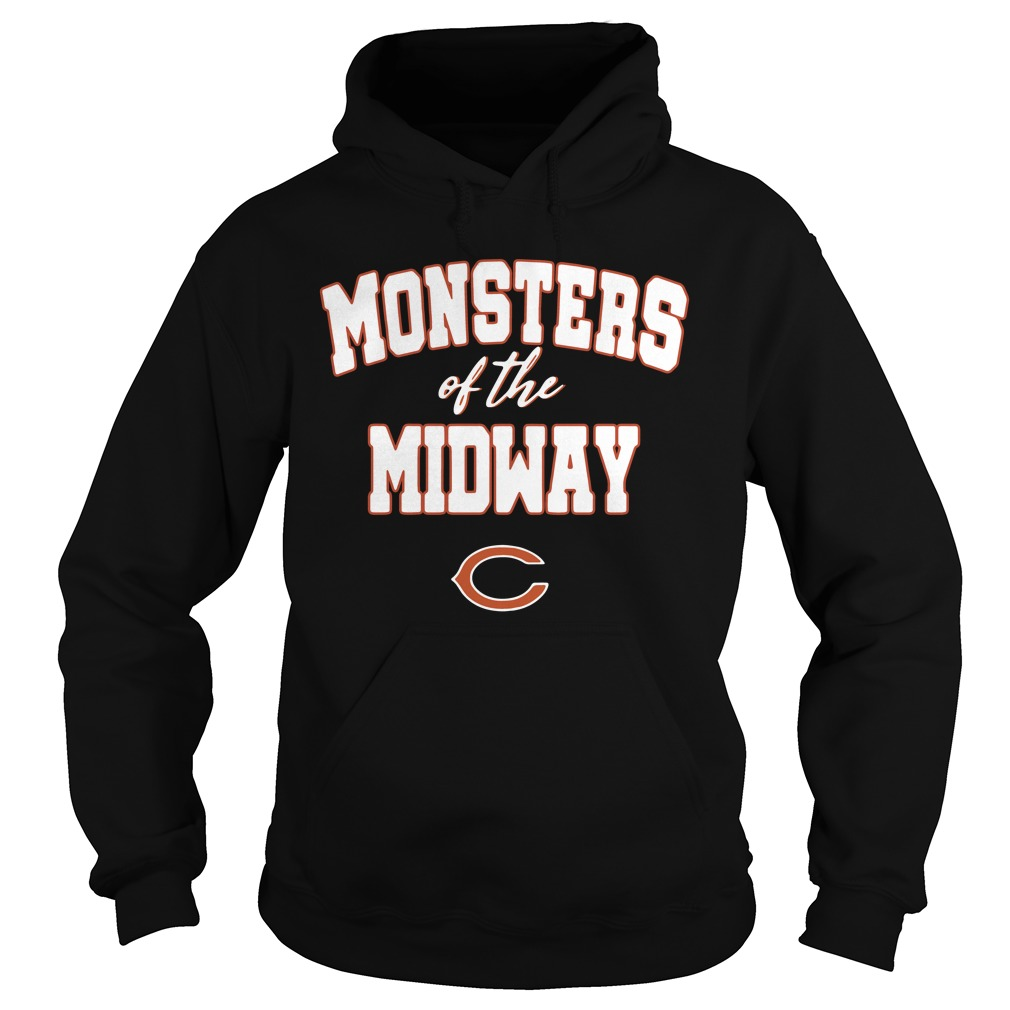 Monsters Of The Midway C Hoodie