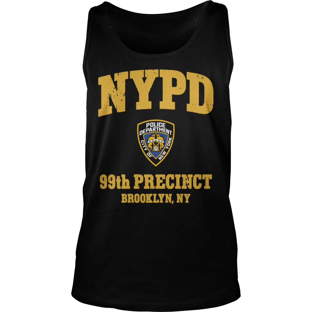 Nypd Police Department City Of New York 99th Precinct Brooklyn Ny tank top