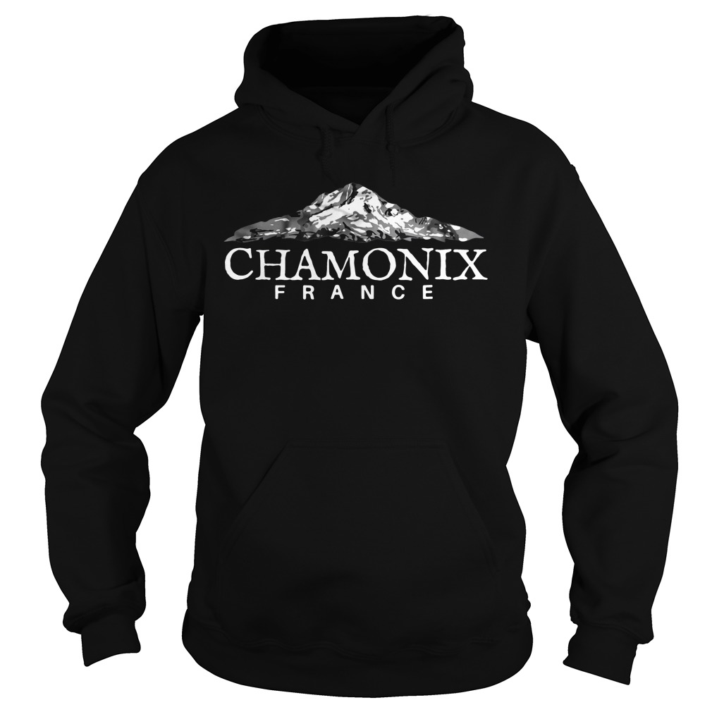 Official Chamonix France hoodie