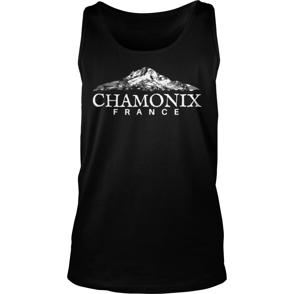 Official Chamonix France tank top