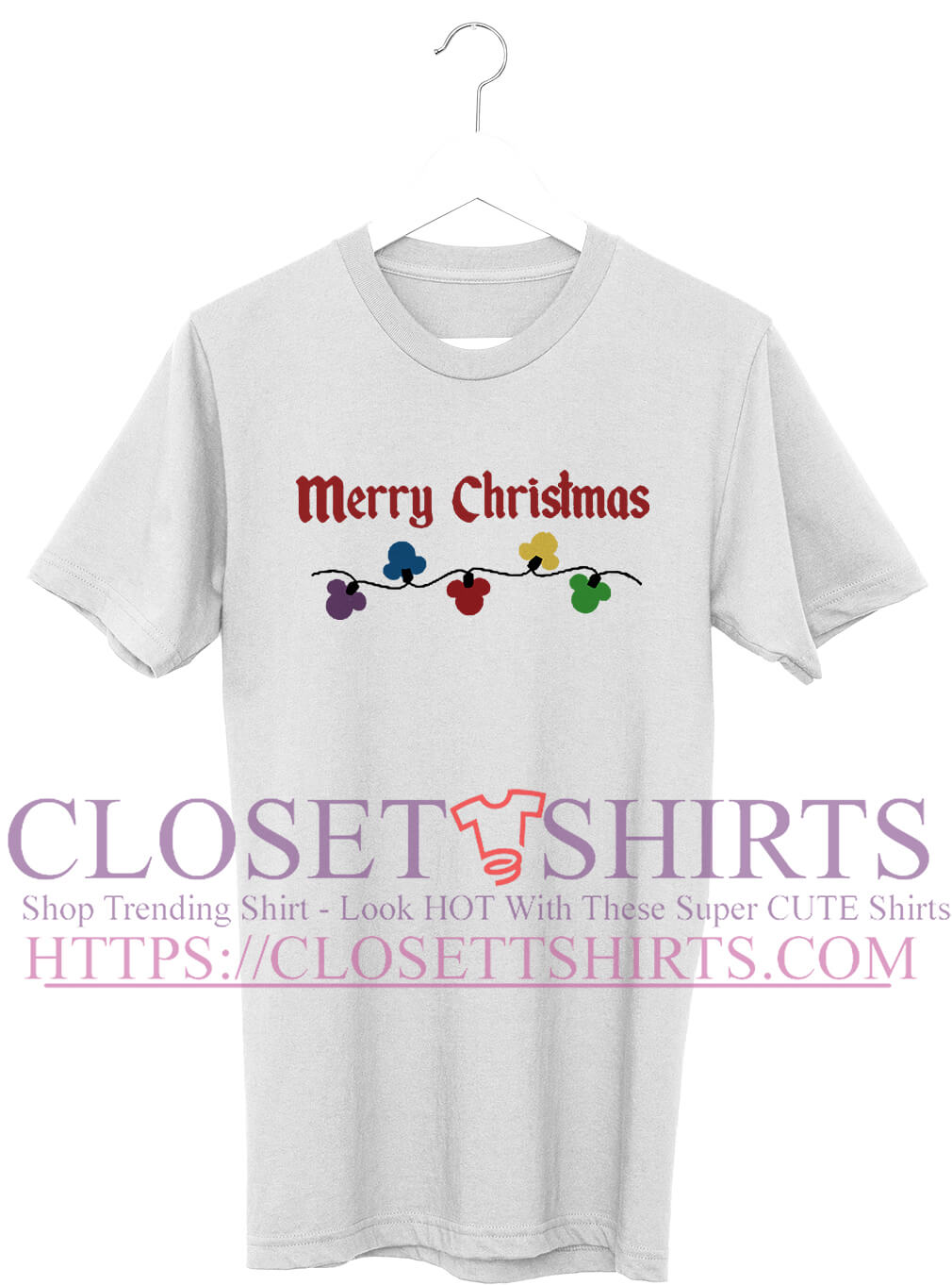 681903179 Official Merry Christmas mickey mouse shirt, classic guys, guys v-neck,