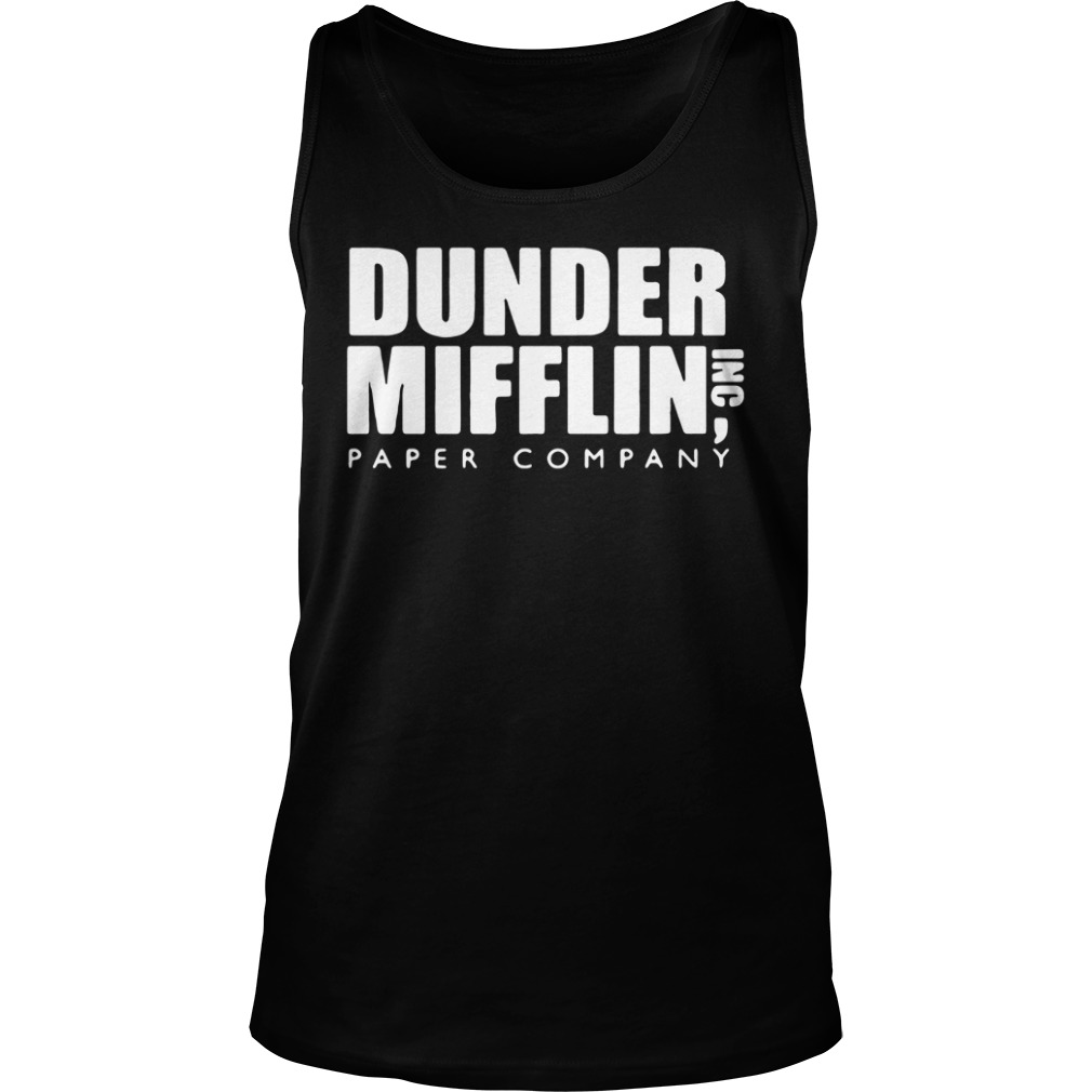 Official The Office Dunder Mifflin Paper Company Tank top