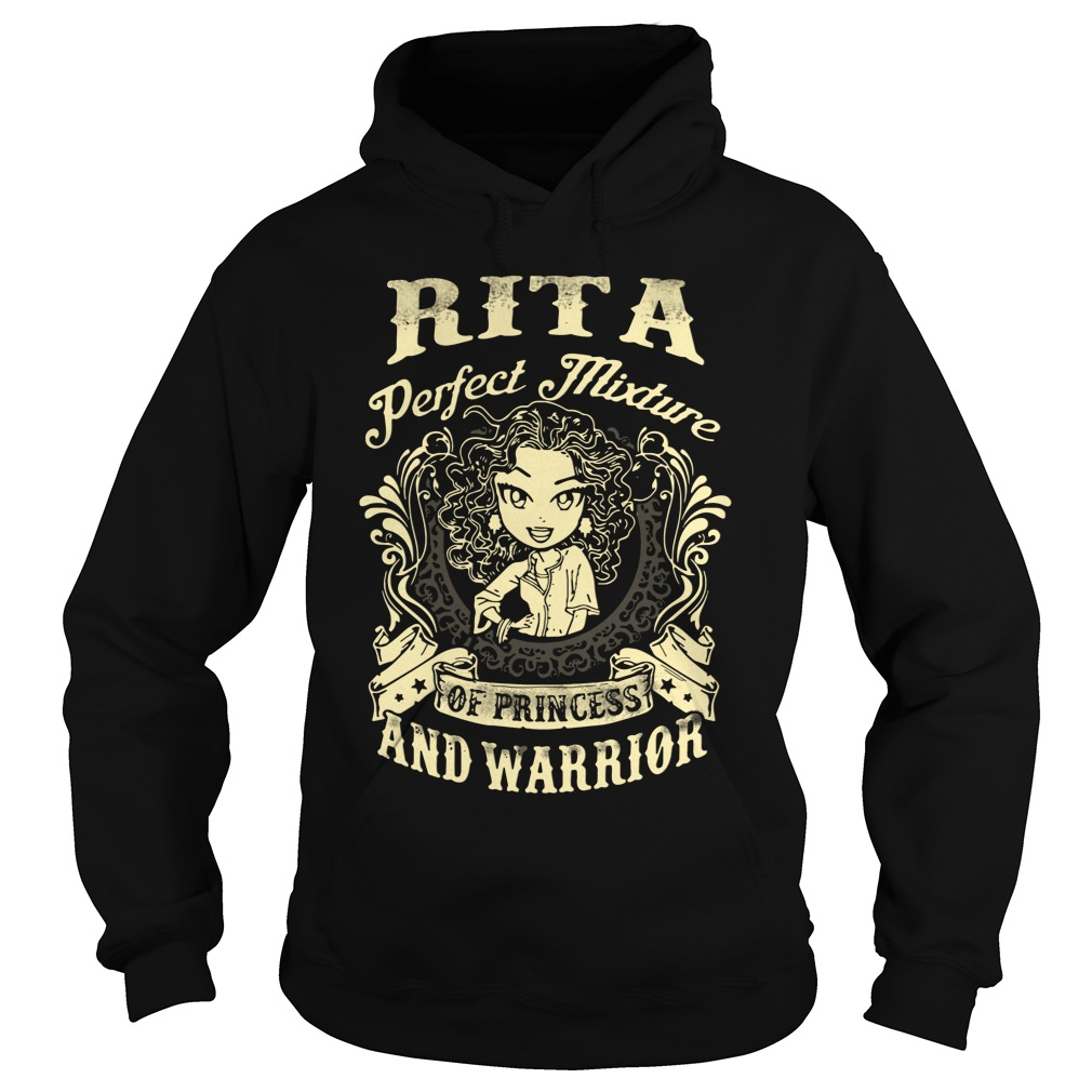 Rita Perfect Mixture Of Princess And Warrior Hoodie