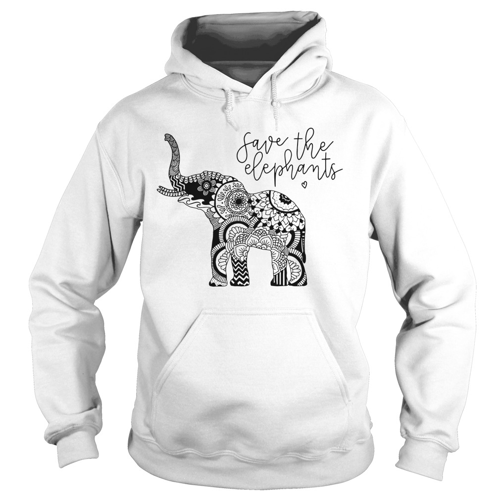 Save The Elephants hoodie