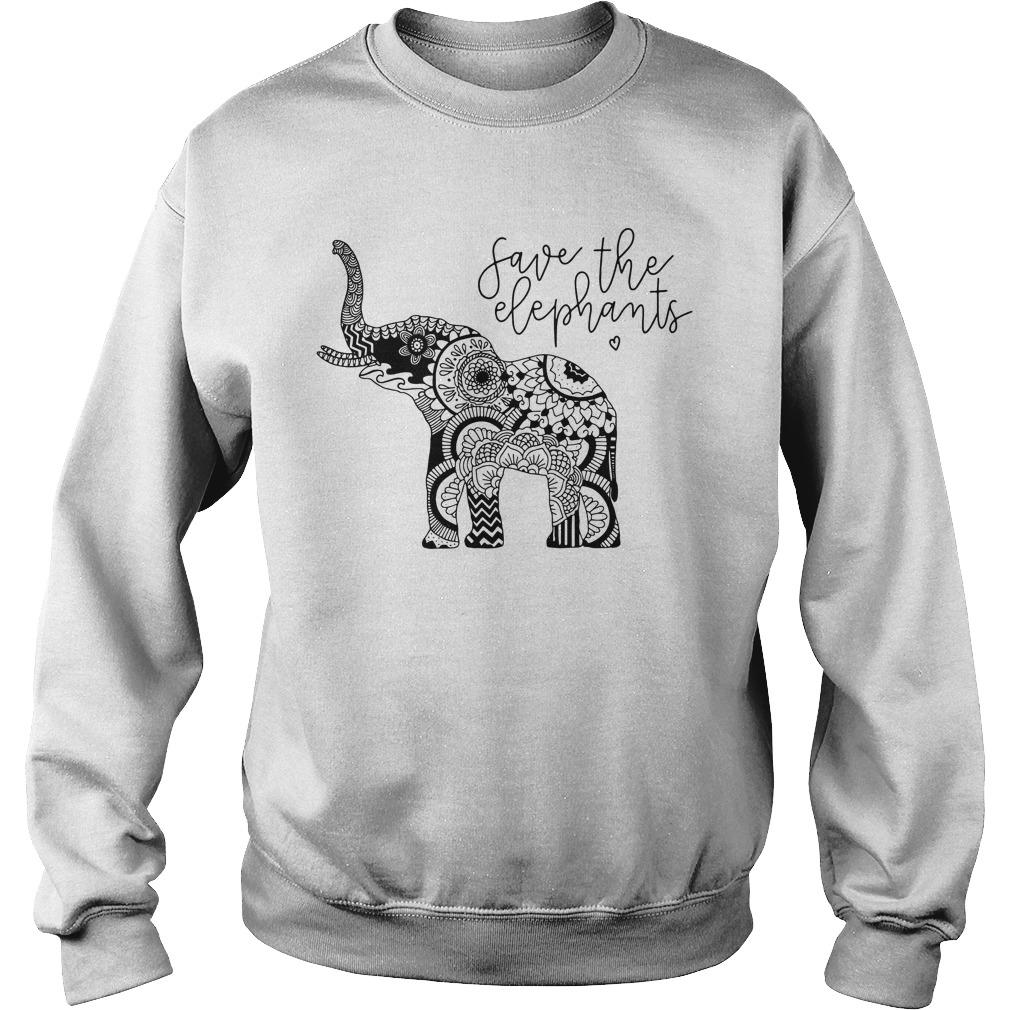 Save The Elephants Sweatshirt