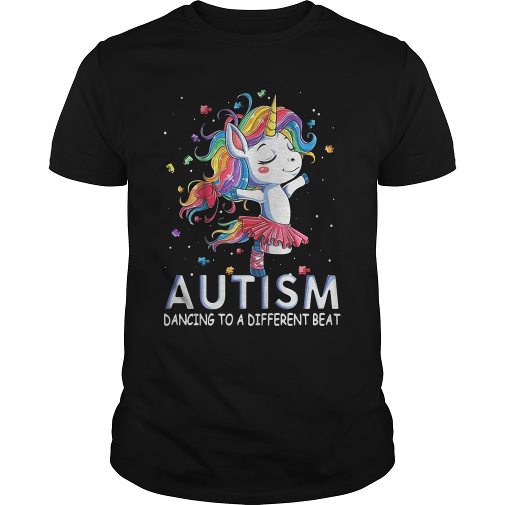 Unicorn Ballet Autism Dancing To A Different Beat classic guys