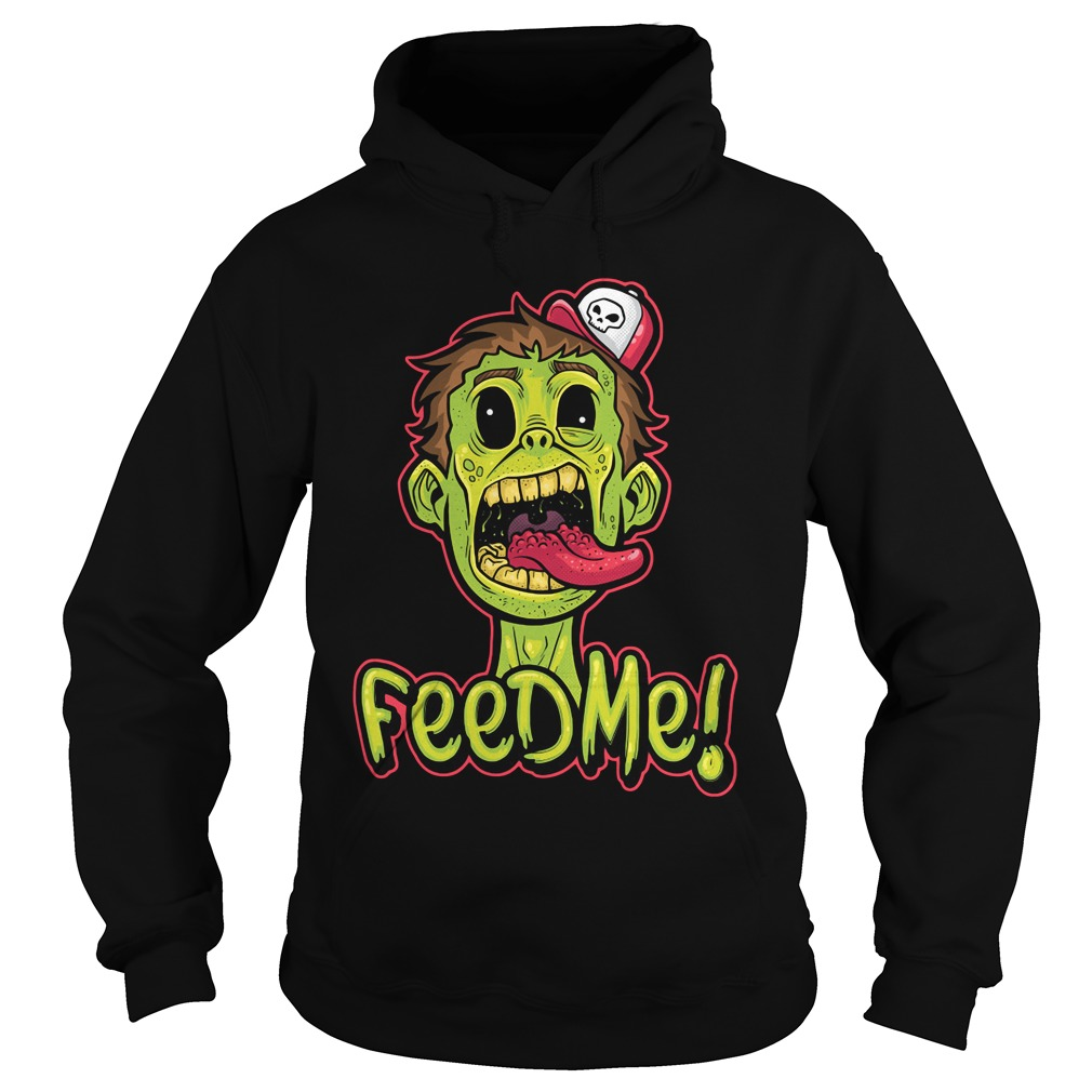 Zombie! Double Sided Feed Me Hoodie