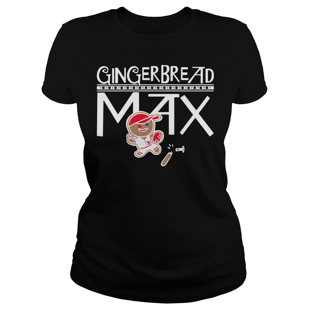 Gingerbread Max ladies tee