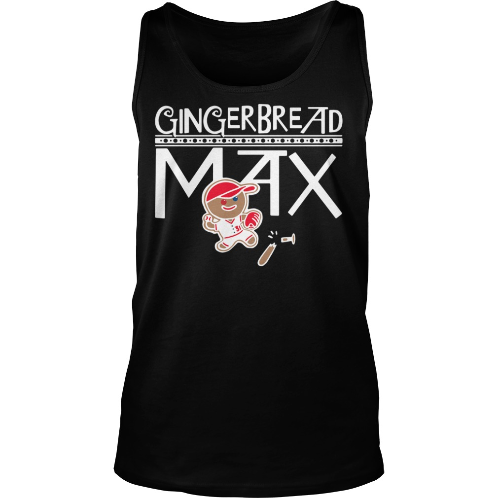 Gingerbread Max tank top