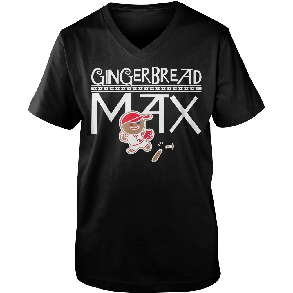 Gingerbread Max v-neck