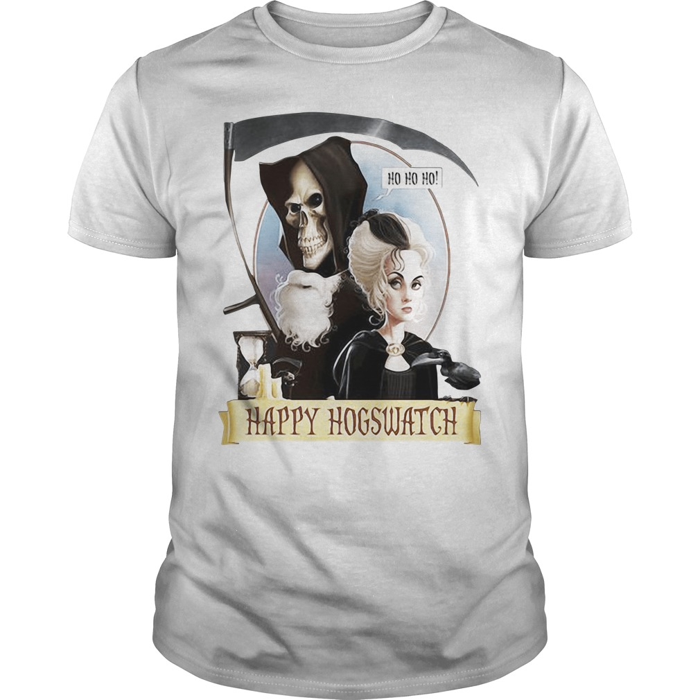 Happy Hogswatch Harry Potter guys tee