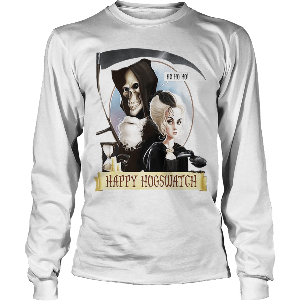 Happy Hogswatch Harry Potter long sleeve